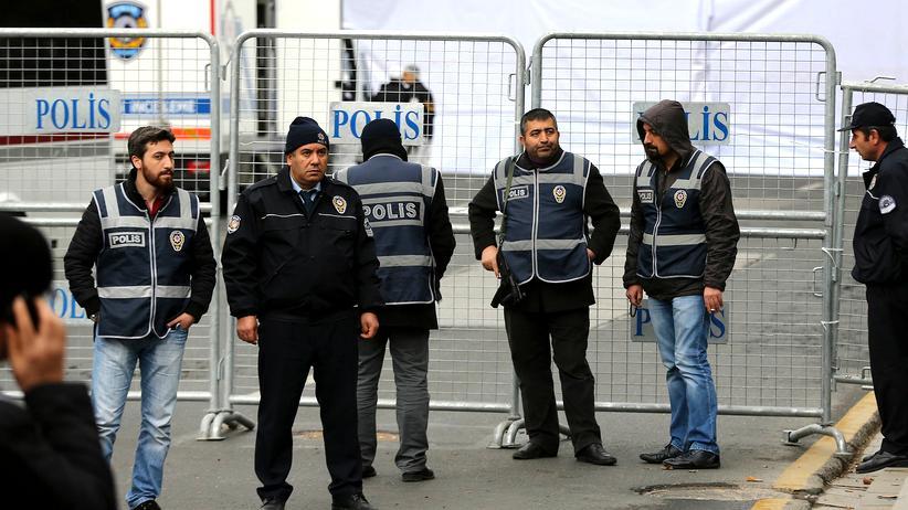 Ankara: Sicherheitskräfte in Ankara (Archivbild)