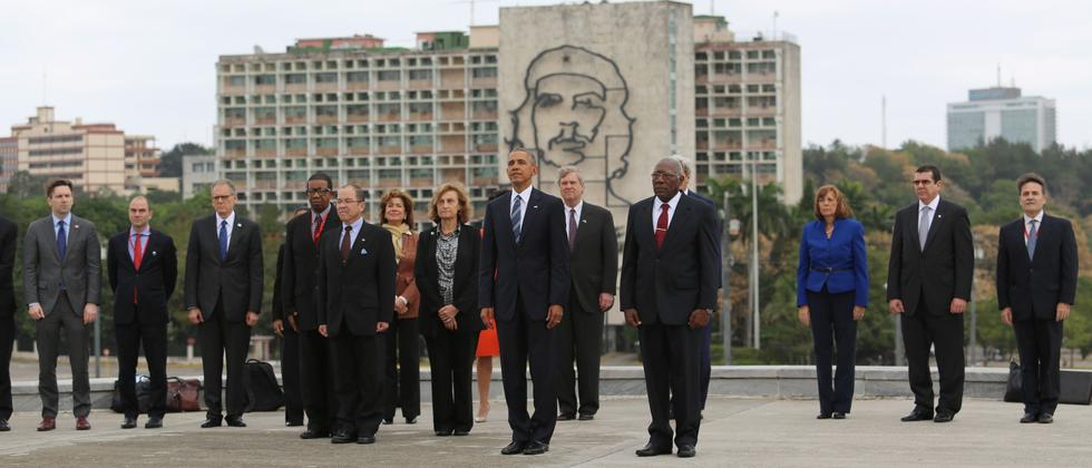 Barack Obama in Havanna