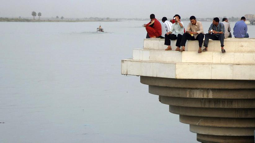 Irak: Am Fluss Schatt al-Arab in Basra
