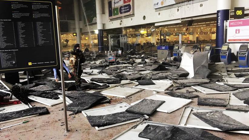 Sicherheit in Belgien: Der Flughafen Brüssel nach dem Anschlag