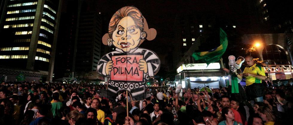 Brasiliens Präsidentin Dilma Rousseff hat ihren Vorgänger Lula zum Kabinettschef ernannt – Tausende reagierten mit Protest.