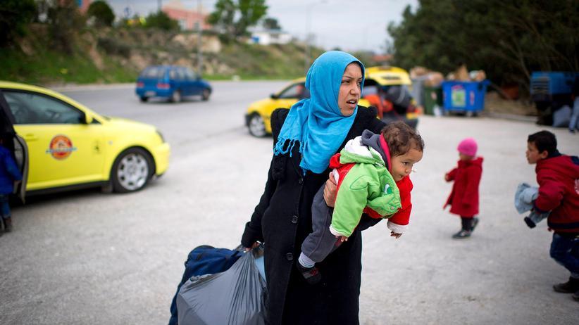 Flüchtlinge: Syrische Flüchtlinge auf Lesbos
