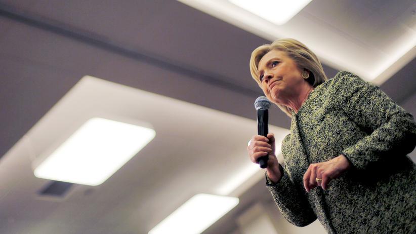 Hillary Clinton: Hillary Clinton auf einer Wahlkampfveranstaltung am 28. Februar 2016 in Nashville, Tennessee
