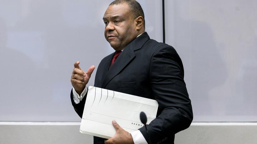 Internationaler Strafgerichtshof: Jean-Pierre Bemba im Gerichtssaal des Internationalen Strafgerichtshofs