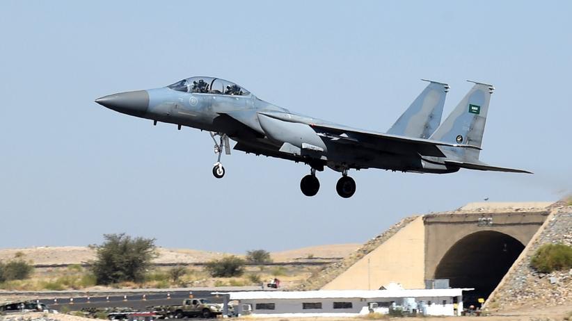 Saudi-Arabien F-15 Kampfjet