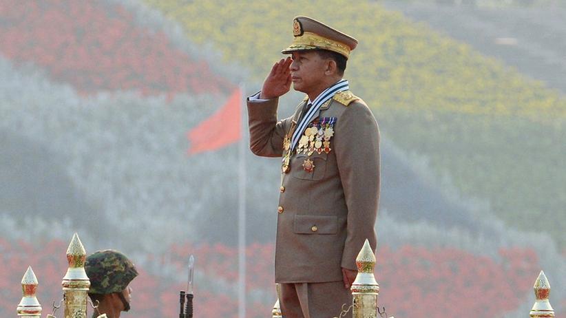 Myanmar: Myanmars Armeechef Min Aung Hlaing
