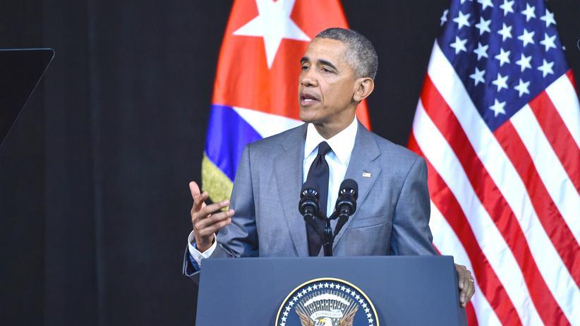 Kuba: Obama ruft Kubaner zum Widerspruch auf