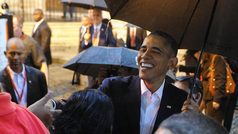 "Obama in Kuba: ""Wie geht's, Kuba?"""