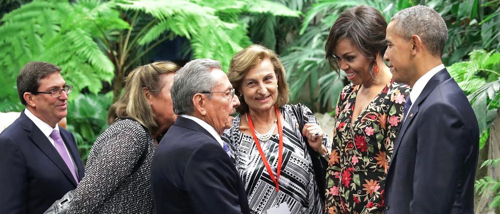 Obama Kuba Castro