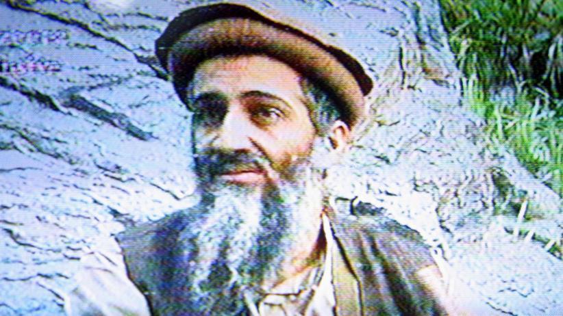 Osama bin Laden: Osama bin Laden in einem 2003 veröffentlichten Video