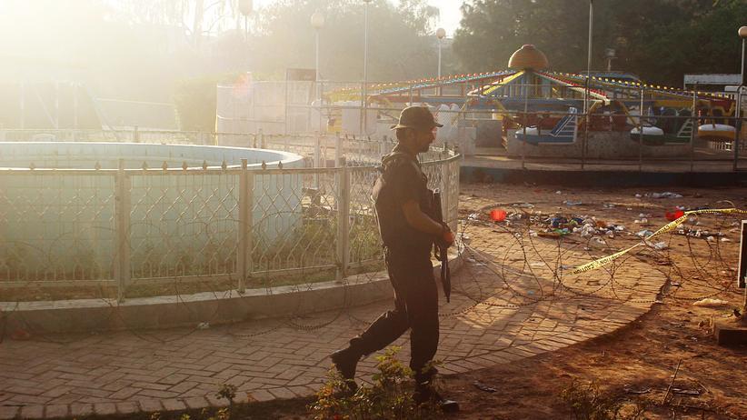 Pakistan: Tatort des Anschlages von Lahore