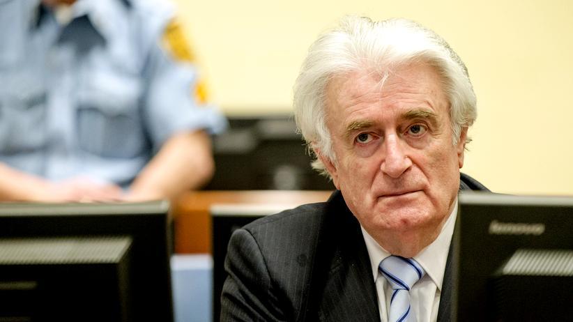 Srebrenica-Völkermord: Karadžić zu 40 Jahren Haft verurteilt
