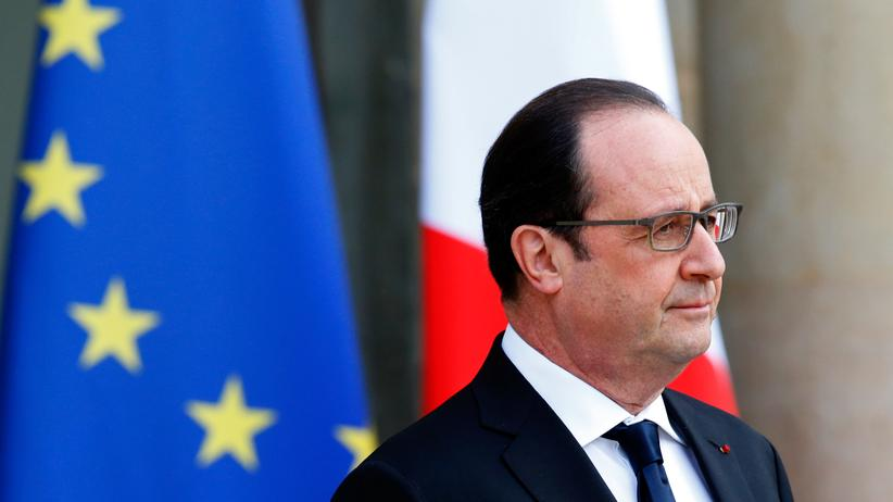 Frankreich: Frankreichs Präsident François Hollande bei einem Termin im Élysée-Palast Anfang Februar