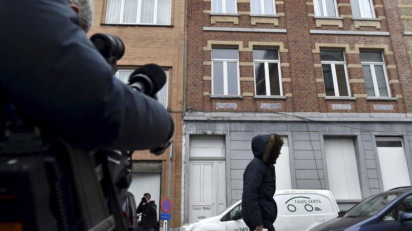 Salah Abdeslam: In dem Haus Nummer 79 in der Rue des Quatre vents im Brüsseler Stadtteil Molenbeek wurde Salah Abdeslam am 18. März verhaftet.