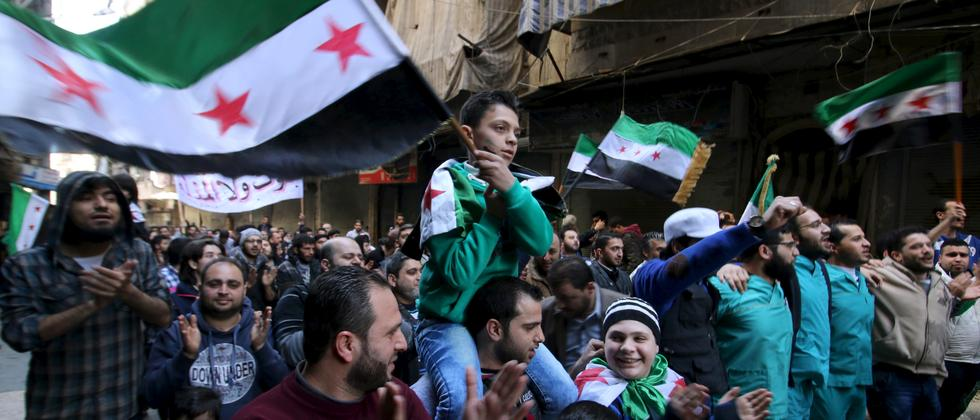 Syrien Opposition Demo
