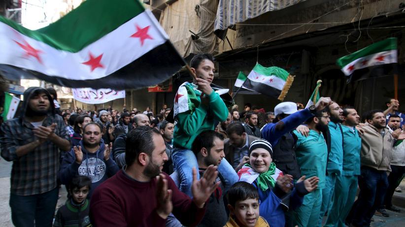 Syrien Opposition Demo