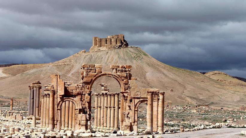 Syrien: Palmyra im März 2015