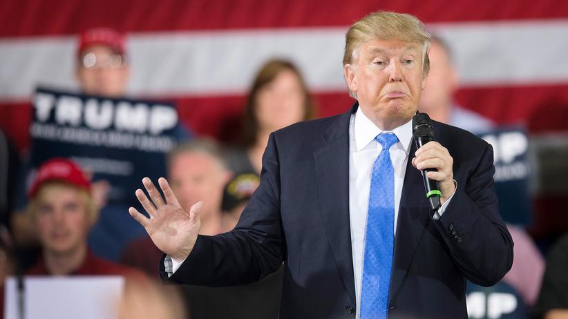US-Wahlkampf: Donald Trump bei einer Wahlkampfveranstaltung in Wisconsin