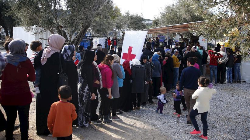 Asylpolitik: Flüchtlinge auf Lesbos