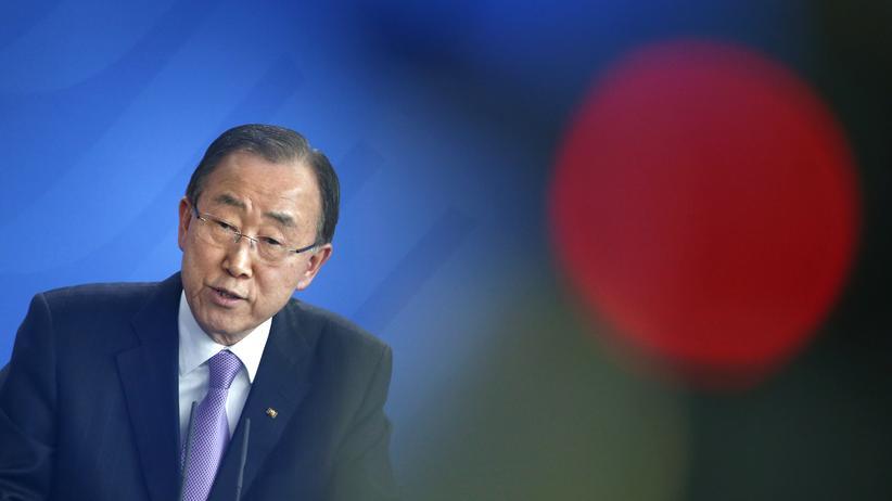Vereinte Nationen: UN-Generalsekretär Ban Ki Moon (Archiv)