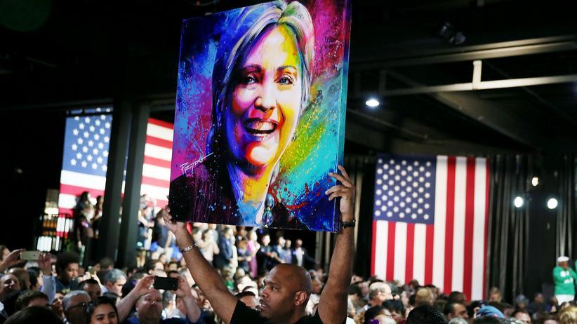 Super Tuesday: Jubel bei den Clinton-Anhängern in Florida über den Erfolg ihrer Favoritin