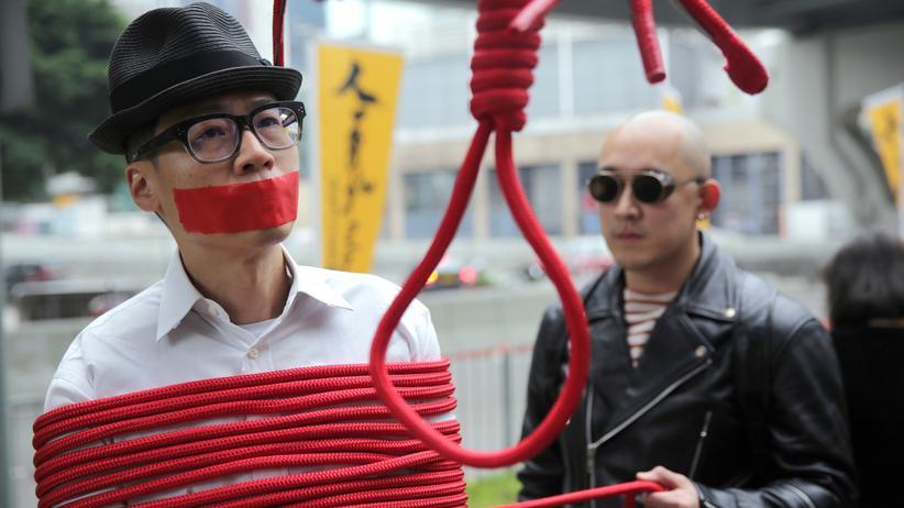 Amnesty International: Ein Aktivist in Hong Kong (Archiv)