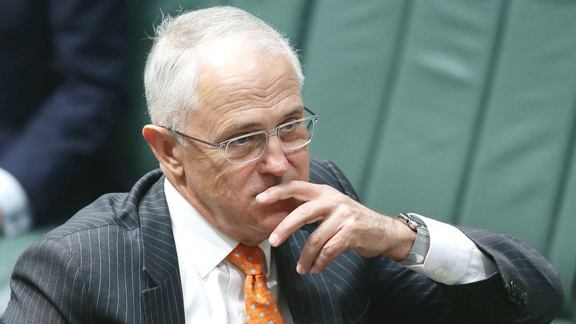 Malcolm Turnbull Australien