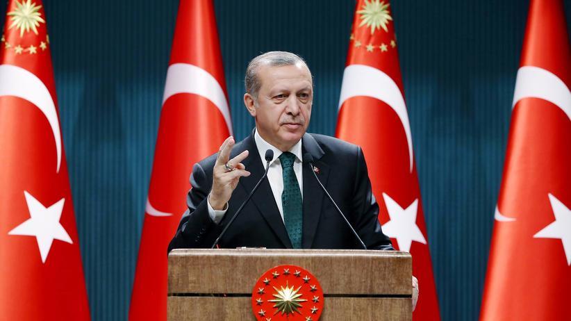Ermittlungen gegen Böhmermann: Der türkische Präsident Recep Tayyip Erdoğan