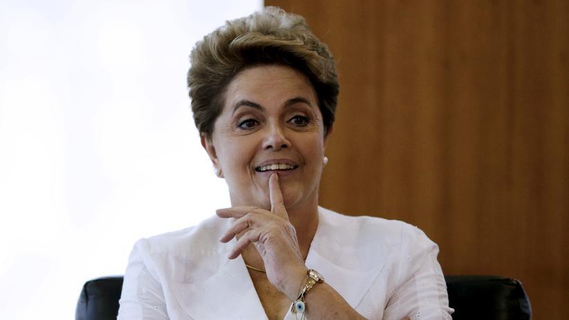 Brasiliens Staatschefin Dilma Rousseff muss um ihr Amt fürchten.