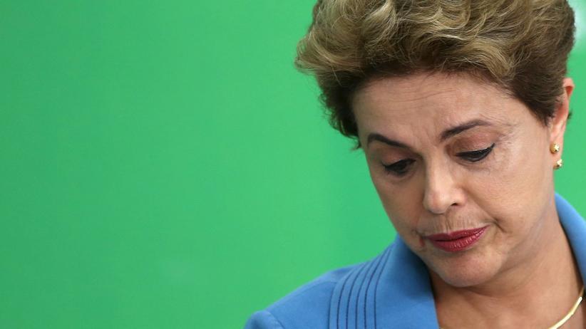 Brasiliens Präsidentin Dilma Rousseff fühlt sich ungerecht behandelt.