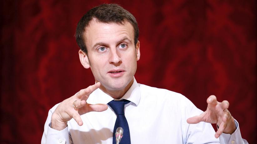 Frankreichs Wirtschaftsminister Emmanuel Macron