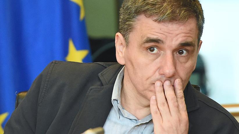 Der griechische Finanzminister Euklid Tsakalotos