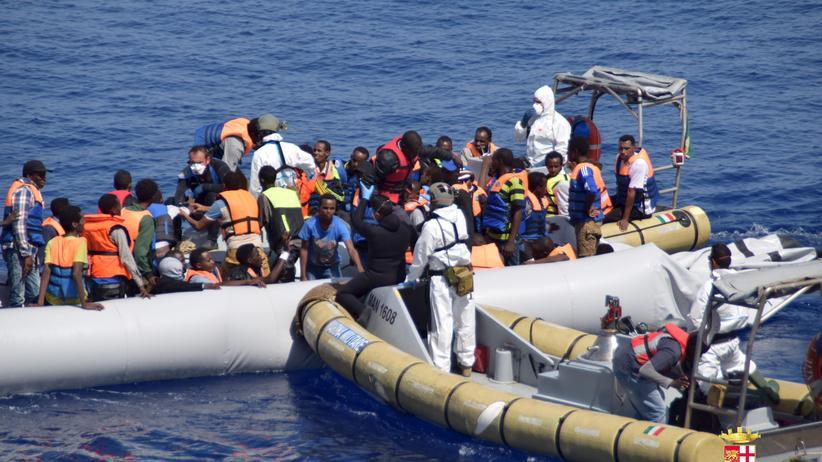 Flüchtlinge Mittelmeer Italien