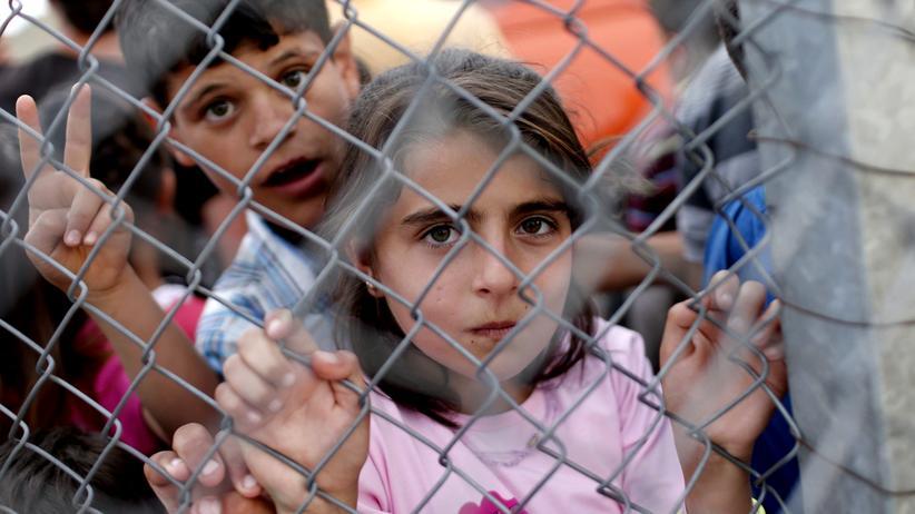 Flüchtlinge: Syrische Flüchtlinge in einem türkischen Camp