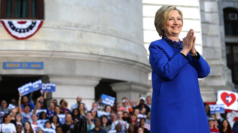 US-Wahl: Hillary Clinton will als US-Präsidentin mehr Frauen in der Regierung haben.