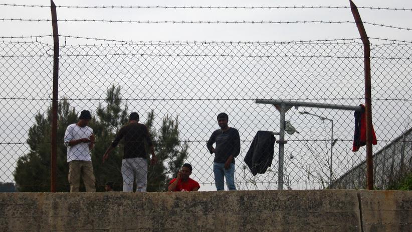 Lesbos: Niemand darf mehr hinaus.