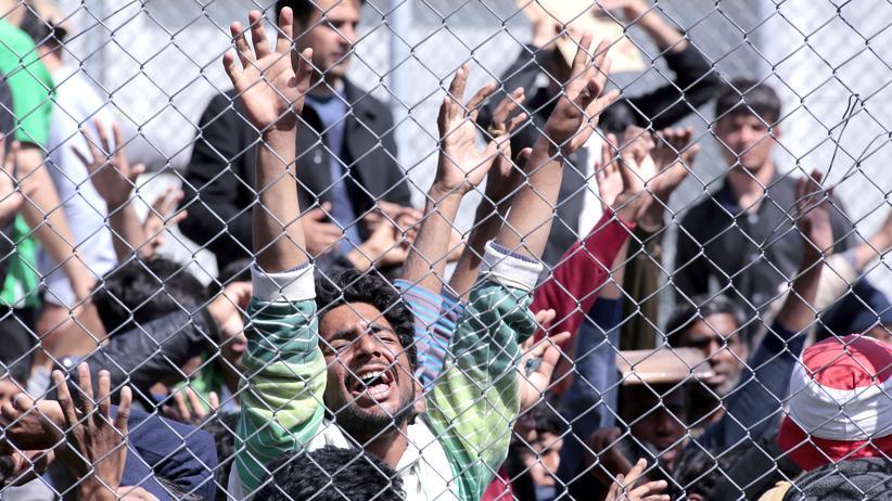 Lesbos Flüchtlinge Griechenland