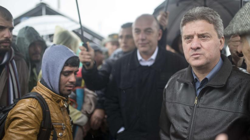 Staatskrise: Der mazedonische Präsident Gjorge Ivanov (Archiv)
