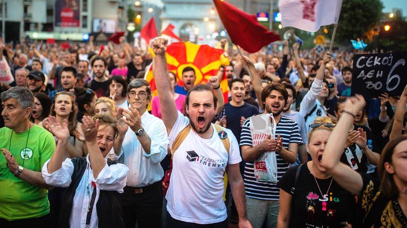 Staatskrise: Die EU darf Mazedonien nicht alleinlassen