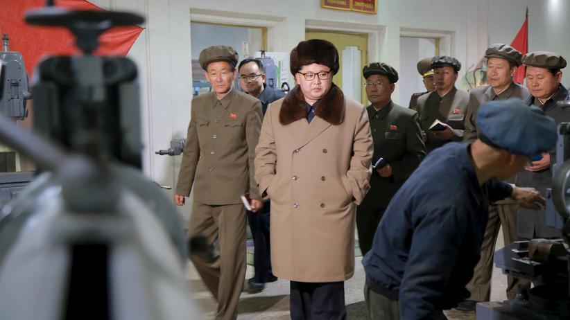 Nordkoreanische Staatsmedien melden Test von Raketenantrieb