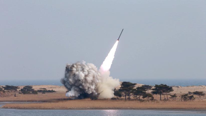 Nordkorea: Kim Jong Un lässt wieder Raketen testen