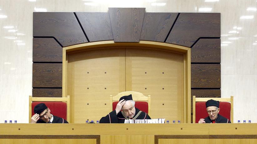 EU-Parlament Polen Verfassungsgericht