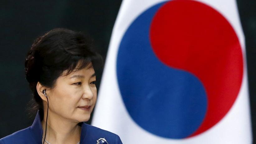 Südkorea: Die südkoreanische Präsidentin Park Geun Hye