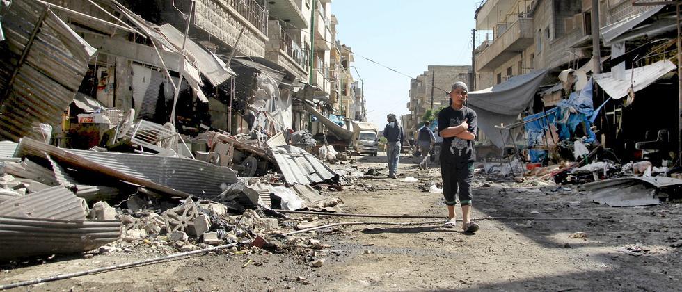 syrien-waffenruhe-Maarat al-Numan