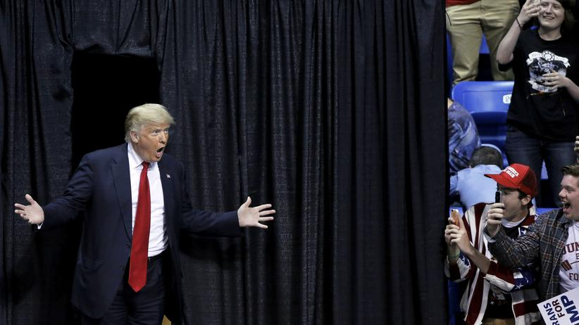 US-Vorwahlen: Trump macht jetzt auf Staatsmann