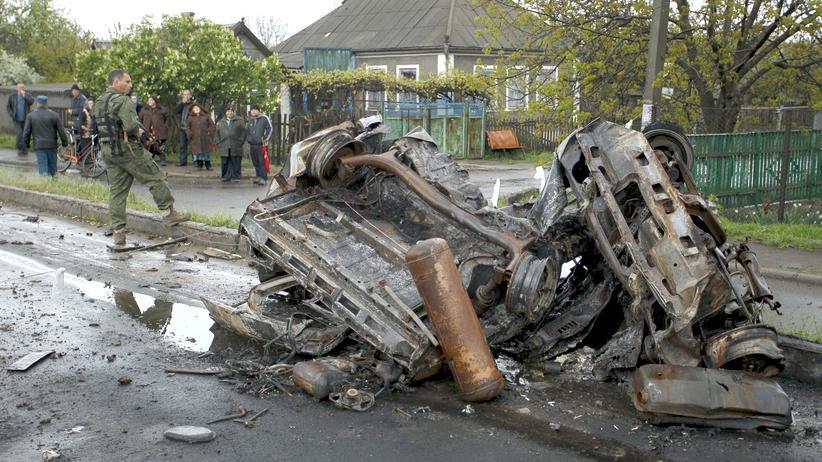 Ukraine Waffenruhe Verstöße OSZE