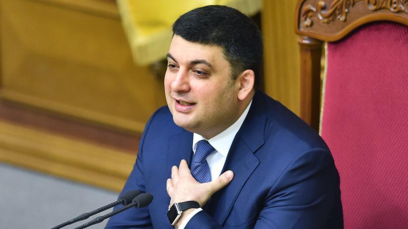 Ukraine: Der neue Ministerpräsident der Ukraine, Wolodymyr Hrojsman. (Archivbild)