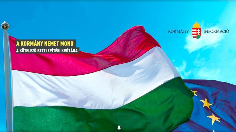 Ungarn Website No-Go-Area