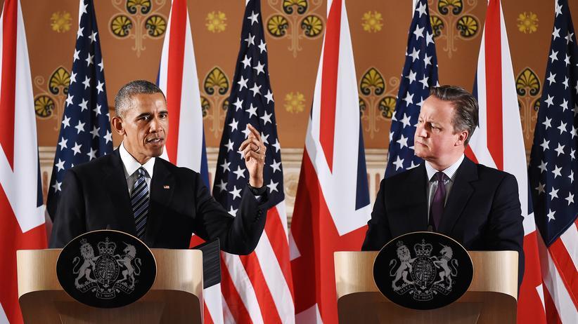 Brexit: US-Präsident Barack Obama und der britische Premierminister David Cameron