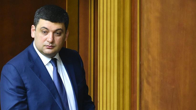 Ukraine: Wolodymyr Hrojsman im Parlament in Kiew